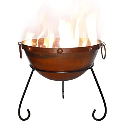 Gardeco Rustic Steel Fire Bowl Rusticfb50 from Gardeco Ltd