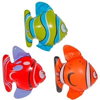 3 Aufblasbare Fische aufblasbarer