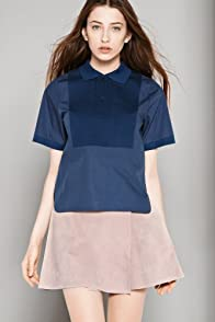 Fashion Show Short Sleeve Cotton Poplin Polo