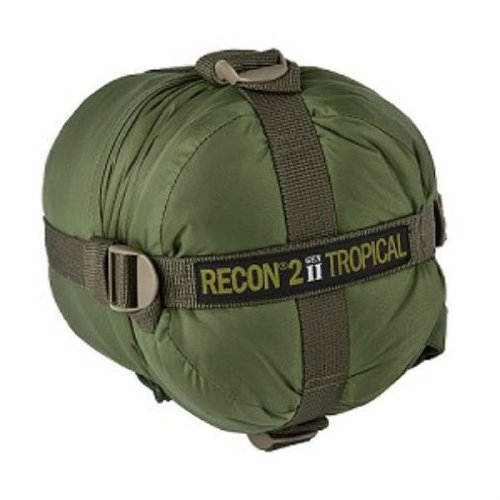 Elite Survival Systems Recon 2 Sleeping Bag, Olive Drab, Rated to 41 Degrees Fahrenheit, RECON2-OD