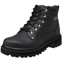 Hot Sale Skechers Men's Pilot Utility Boot,Black,10.5 M US