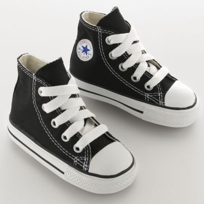 Converse All Star Hi Toddler Schuhe - Schwarz