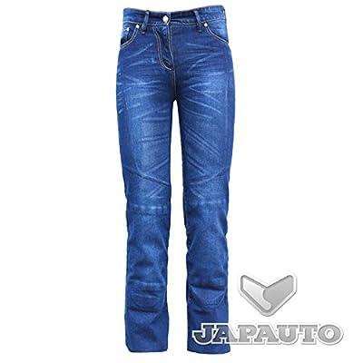 Helstons - Pantalon Jeans Rose Kevlar Femme - Taille : 38