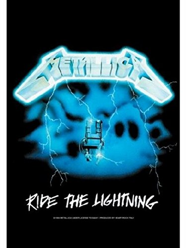 Poster Bandiera Metallica Ride The Lightning
