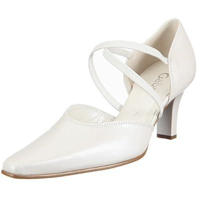 gabor shoes damen brautschuhe pumps weiss. Black Bedroom Furniture Sets. Home Design Ideas