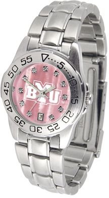 Brigham Young Cougars BYU NCAA Womens Pearl Sports Watch