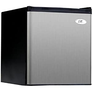 SPT 1.8 cu.ft. Compact Refrigerator in Stainless - Energy Star