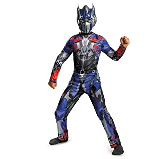 Disguise Hasbro Transformers Age of Extinction Movie Optimus Prime Classic Boys Costume, Medium/7-8