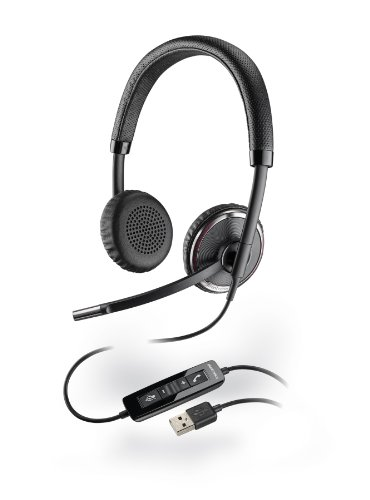 Plantronics 88861-02 BlackWire C520-M USB softphone headset