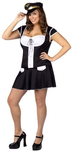 Captain Layover Plus Size Costume
