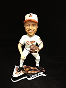 Chris Davis Baltimore Orioles Bobblehead White Jersey Forever Collectibles NEW