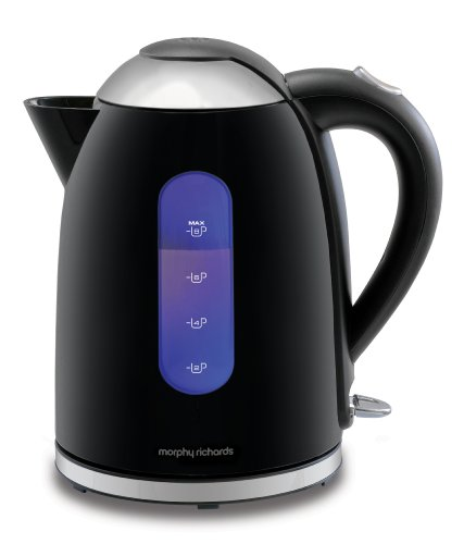 Morphy Richards Accents 43173 Jug Kettle, Black by Morphy Richards