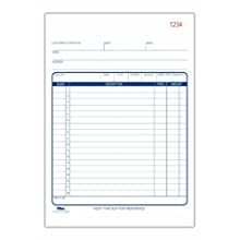 TOPS Sales Slip, Carbonless Duplicate, 5.5 x 7.87 Inches, 50 Sets/Book (46320)