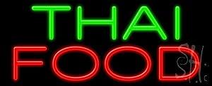 "Amazon.com: Thai Food Outdoor Neon Sign 13"" Tall x 32"" Wide x 3.5"