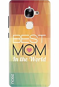 Noise Designer Printed Case / Cover for LeEco Max2 / Quotes/Messages / Best Mom Design