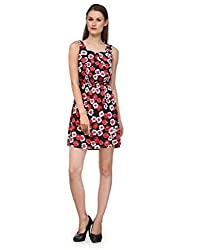 Ausy Women's Floral Print Sheath Dress
