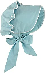 Brooke\'s Treehouse Baby Girls\' Magnolia Bonnet 12 Month Blue
