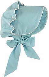 Brooke\'s Treehouse Baby Girls\' Magnolia Bonnet 12 Month Blue