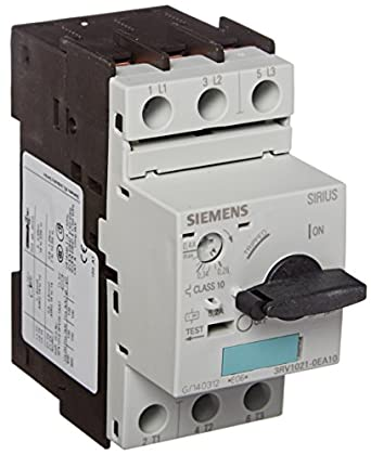 Siemens 3rv1021 0ea10 manual starter and enclosure open for Siemens manual motor starter