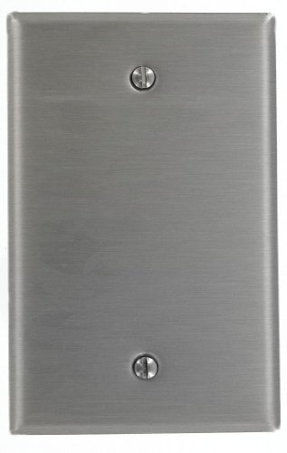 leviton-ssj13-40-1-gang-1-box-mount-stainless-steel-midway-size-wallplate-stainless-steel