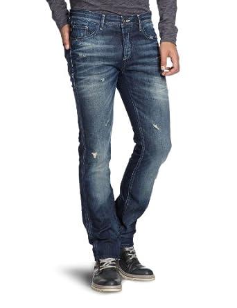 SELECTED HOMME Herren Jeans Normaler Bund 16027711 Two 3011 Jeans, Gr. 33/32, Blau (Denim)
