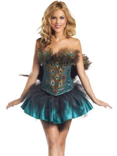 Costume Adventure Women's Peacock Costume