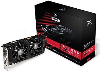XFX Radeon RX 470 Black Edition 4GB Video Card