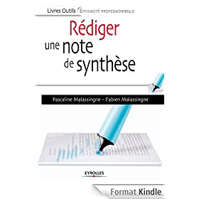 R�diger une note de synth�se