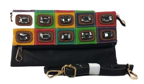 K13517 Mylux Women/Gril Close-Out Clutch Bag (Black)