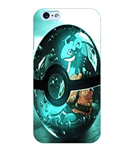 ColourCraft Digital Ball Design Back Case Cover for APPLE IPHONE 6