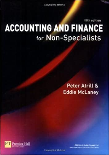 Accounting and Finance for Non-Specialists (5th edition)
