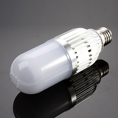 Foto4easy New Arrival Energy Saving LED Video Light Bulb Lamp for Studio Photo Photography 15W 5600K