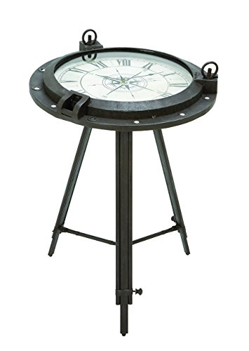 Deco 79 Metal Clock, Table 24 by 19-Inch
