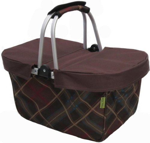 Review JanetBasket Basket Cover, Large, Brown