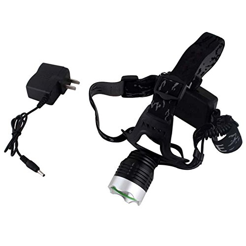 New 800 Lumens Cree Xml T6 Led Headlamp Rechargeable Headlight 2X 18650 Kc-002B