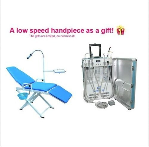 2014 Well Matched Equipments -- Gu-P206 Portable Turbine Delivery Unit Air Compressor 2/4 Holes+ New Version Portable Chair
