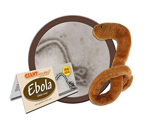 Giant Microbes Ebola Virus Educational Plush Toy