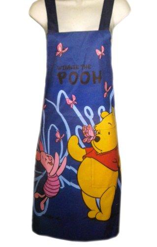 Pooh and Pigglet Apron - Winnie the Pooh Multi Purpose Apron (Blue)