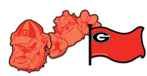Eureka University of Georgia NCAA Licensed Paper Cut Outs - 1