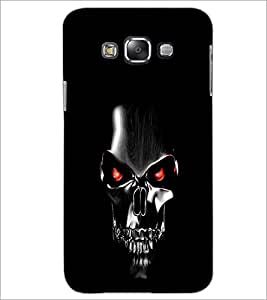 PrintDhaba Skull Mask D-2041 Back Case Cover for SAMSUNG GALAXY GRAND MAX (Multi-Coloured)
