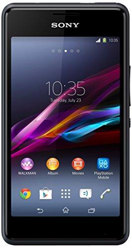 Sony Xperia E1  Smartphone, Nero [Italia]
