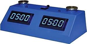 ZMart Fun ZMF-II Digital Chess Clock - Blue LED Display / Blue Case
