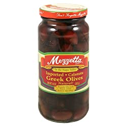 Mezzetta, Olive Greek Calamata, 10-Ounce (6 Pack)