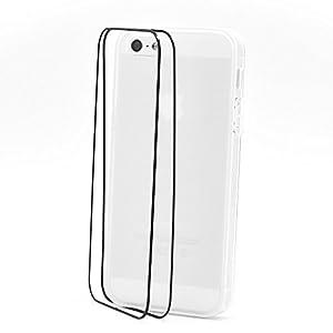 Coques Etui Housse souple Haut de Gamme, Iphone 5, Couleur: Blanc