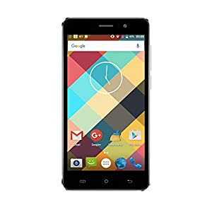 CUBOT Rainbow Mobile Phone Android 6.0 Operation System 5.0 inch IPS Screen GSM/WCDMA No-Contract Smartphone Dual SIM Card Standby MT6580 Quad-Core CPU 16GROM 1G RAM (Black)