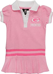 Toddlers Green Bay Packers Polo Dress (2T-4T)
