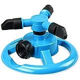 Generic 360 Degree Fully Rotating Water Sprinkler 3 Nozzles Garden Misting Flow Dripper Drip Head Hose Drip Irrigation...