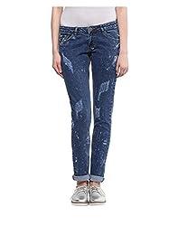 Yepme Women's Blue Poly Cotton Jeans - YPWJEAN5145_28