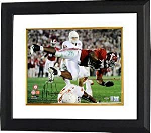 Mark Ingram Autographed Hand Signed Alabama Crimson Tide 16X20 Photo Custom Framed-...