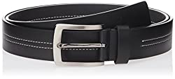 Parx Men's Leather Belt (8907114599265_105_Medium Brown)